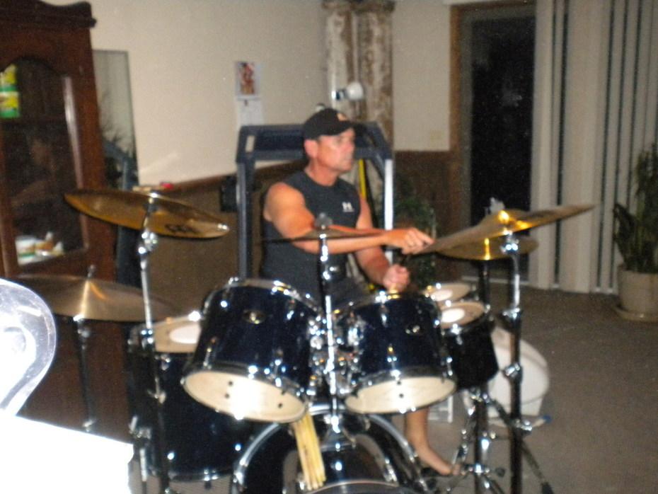 Tony On Drums