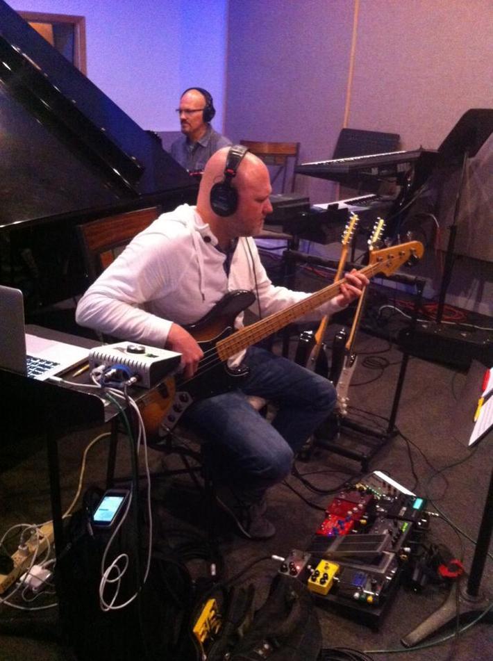 Jeremy Medkiff- Bass/ electric guitars