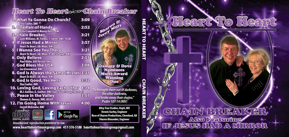 Heart To Heart - New CD - Chain Breaker - on Radio NOW!