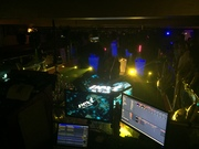Next feel the sound a technoparty in Breda the Netherland. Pandoras Box was used to control the ledscreens on the dj booth