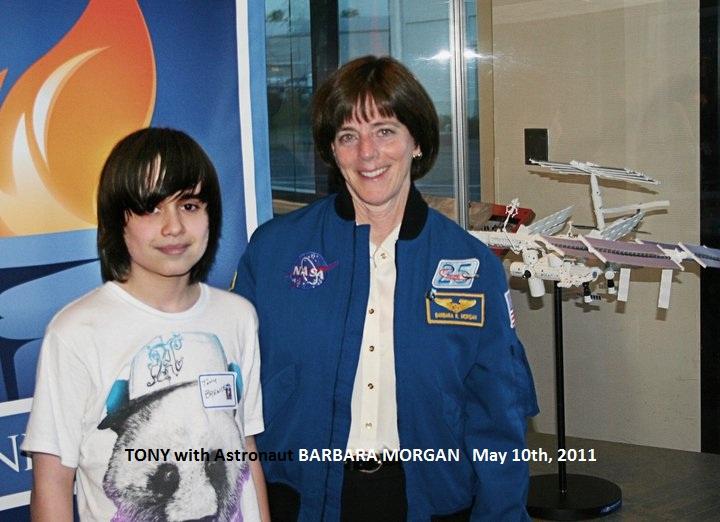 Tony with Astronaut Barbara Morgan 5_10_11 labeled