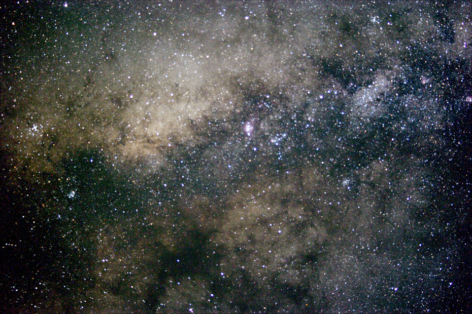 M8 Region of Milky Way