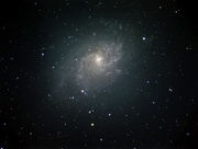 M33 with full moon out