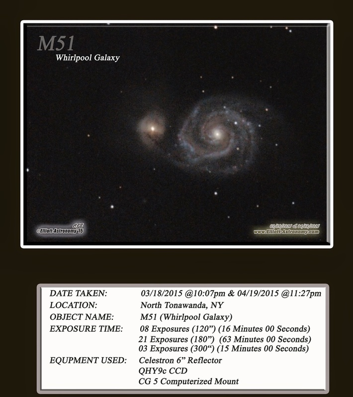 M51 (Whirlpool) close up