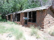 Old Rock Shelter in Sedona