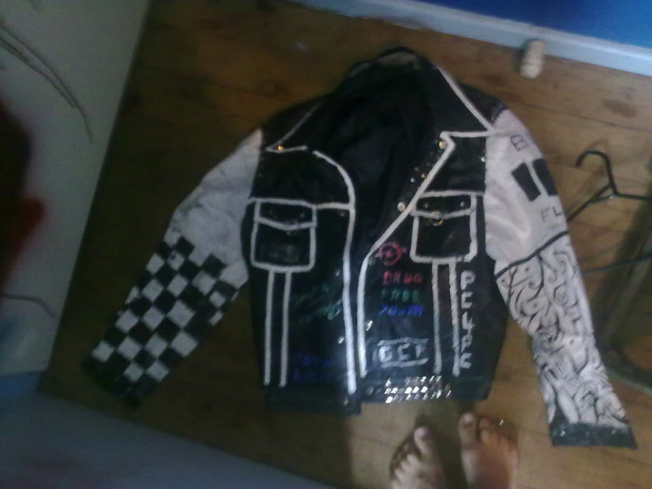 My old jacket, need to fix the two tone