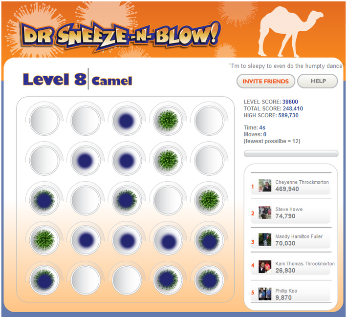 Dr Sneeze -N- Blow :: Camel Flu