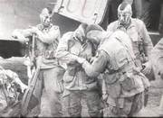 Paratrooper Mohawks at Normandy Invasion, June 6, 1944
