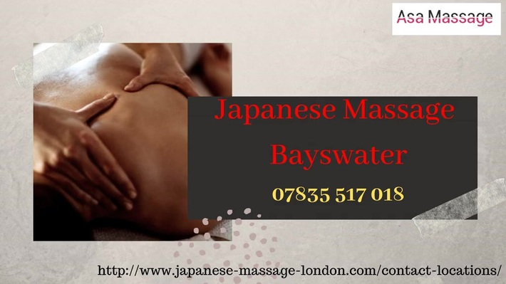 Amazing Japanese Massage services in Bayswater