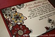 Magical Blossoms Wedding Invitation