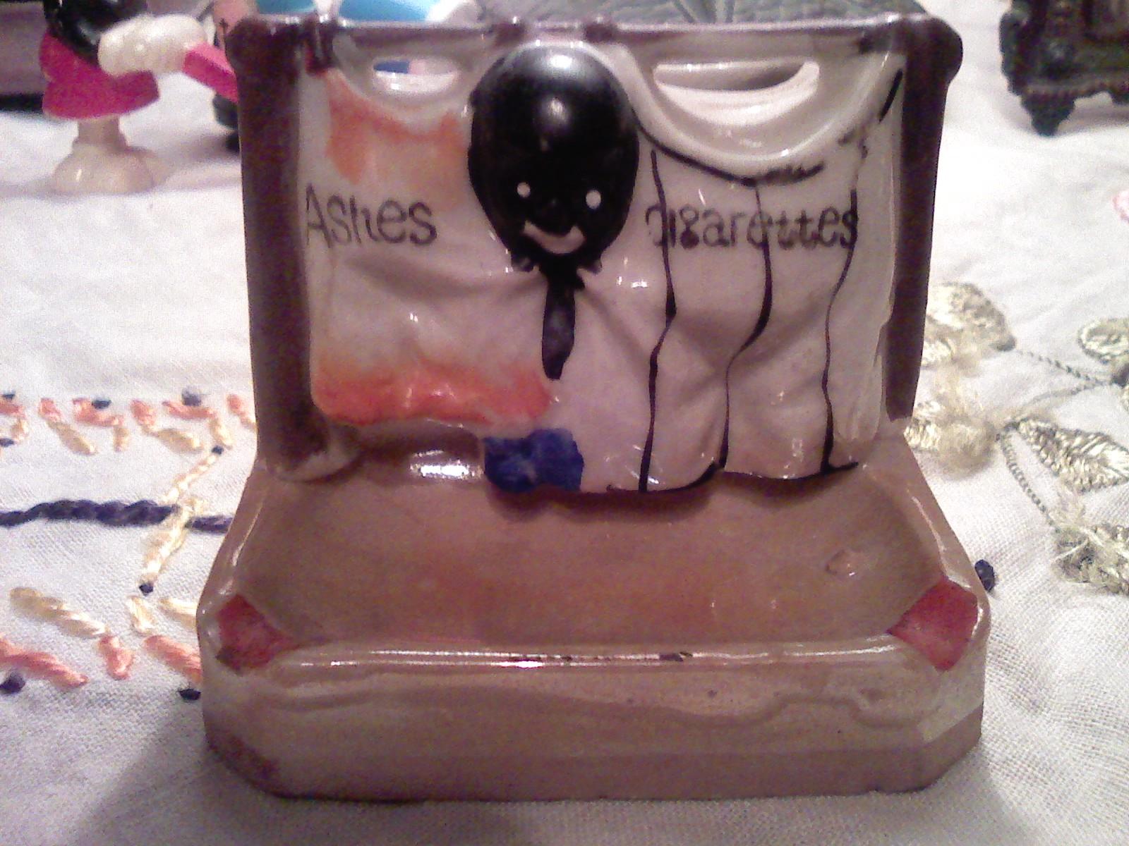lusterware ashtray