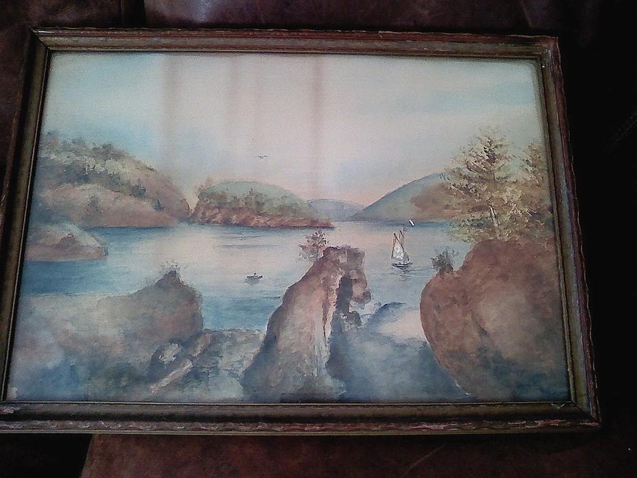 antique watercolor