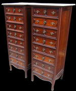 Art Nouveau Mahogany French Chest of Drawers
