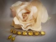 Vintage Unique Amber Stone Bracelet