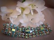 Vintage Aurora Borealis Rhinestone Bracelet