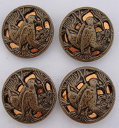 Vintage Bird Twinkle Buttons