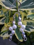 Dancing Fresh Water Pearl Earrings