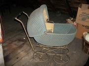 Heywood Wakefield Wicker Baby Carriage