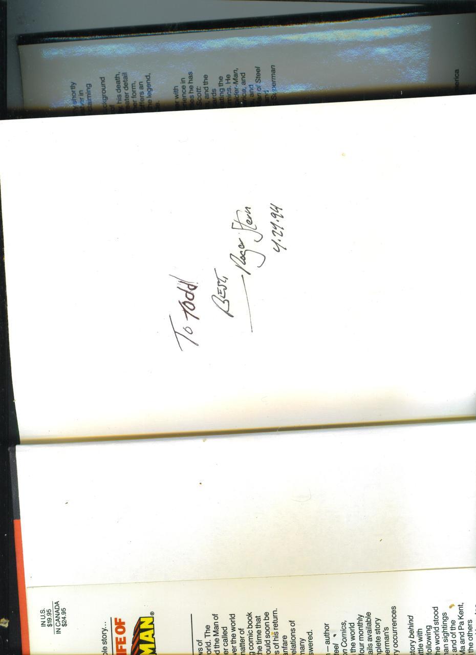 Roger Stern Signature