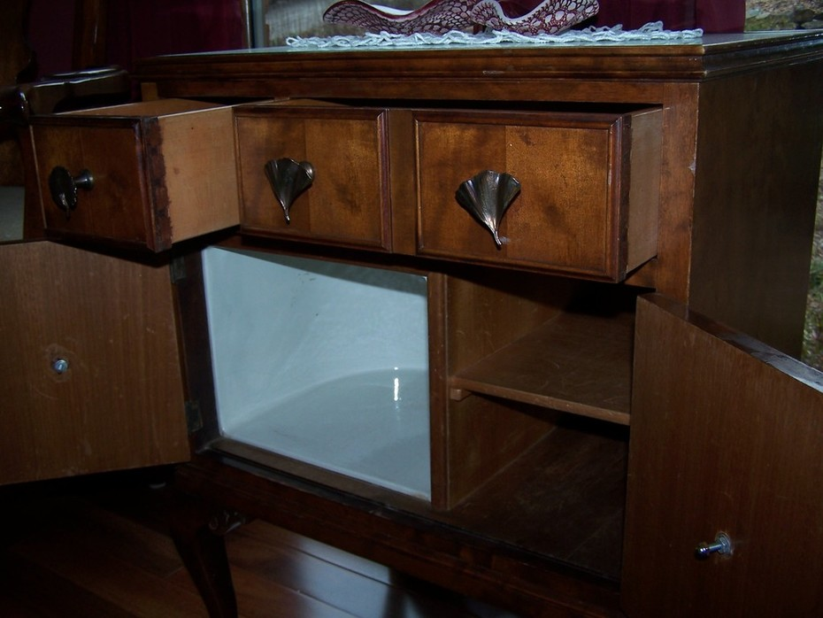 End Table Cabinet