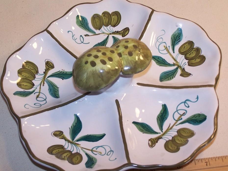 Ceramic Relish Dish