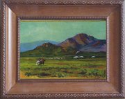 neat little western painting