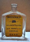 Monnet Cognac Flask