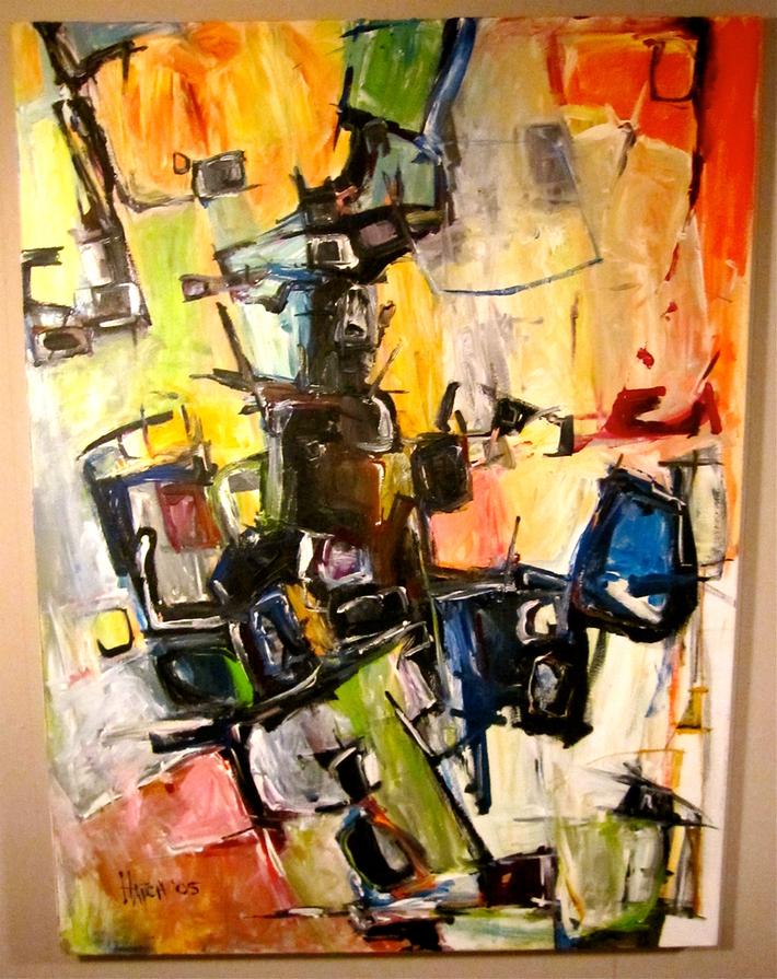 Uncle Rhombus by Joe Hatch 2005