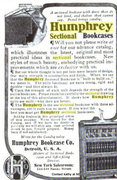 Humphrey Sectional Bookcase Ad