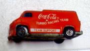 CORGI coca-cola die cast vehicle