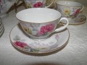 Vintage Made in Japan Shabby Rose Tea Set