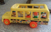 Fisher-Price School Bus @ 192 - SOLD