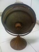 1920's cast iron heat lamp