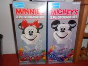 Minnie & Micky 2pc.storage set