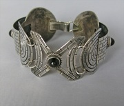 Early Mexican Silver Cuff