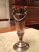 12-0117 - Gorham Sterling vase -lot 686 (5)