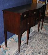 Hickory Chair Hepplewhite Sideboard, Flaming Mahogany, Federal
