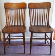 Oak Side Chairs