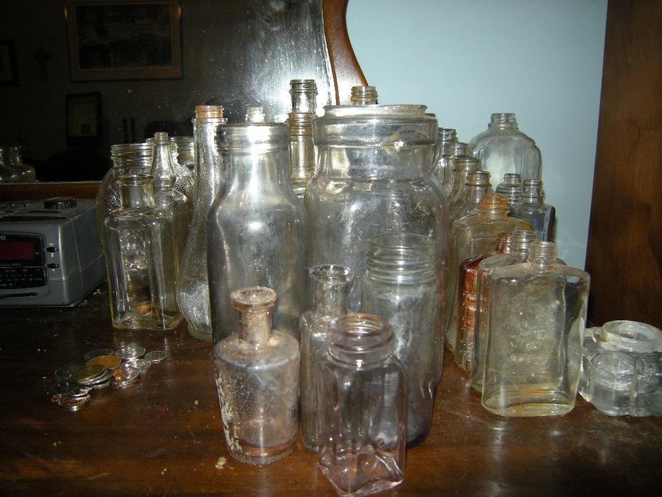 Old bottles  1900's