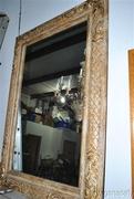 Fabulous Large Ornate Gold Gilt Mirror