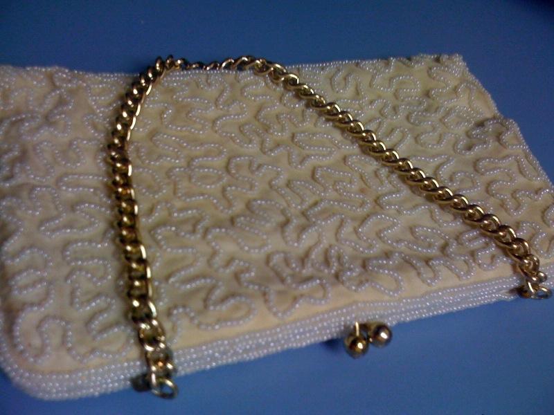 vintage Walborg clutch purse