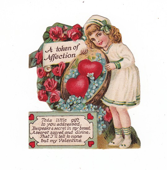 Vintage Valentine's Day Card c1925-1932