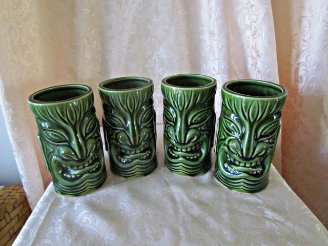 Vintage OMC Tiki Mugs