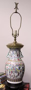 CHINESE PORCELAIN - VASE - LAMP