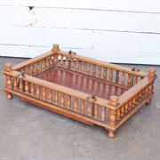 Dutch Colonial Satinwood Baby Bed