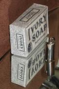 1921-1928 Gillette Ivory Soap Razor w Ivory Soap