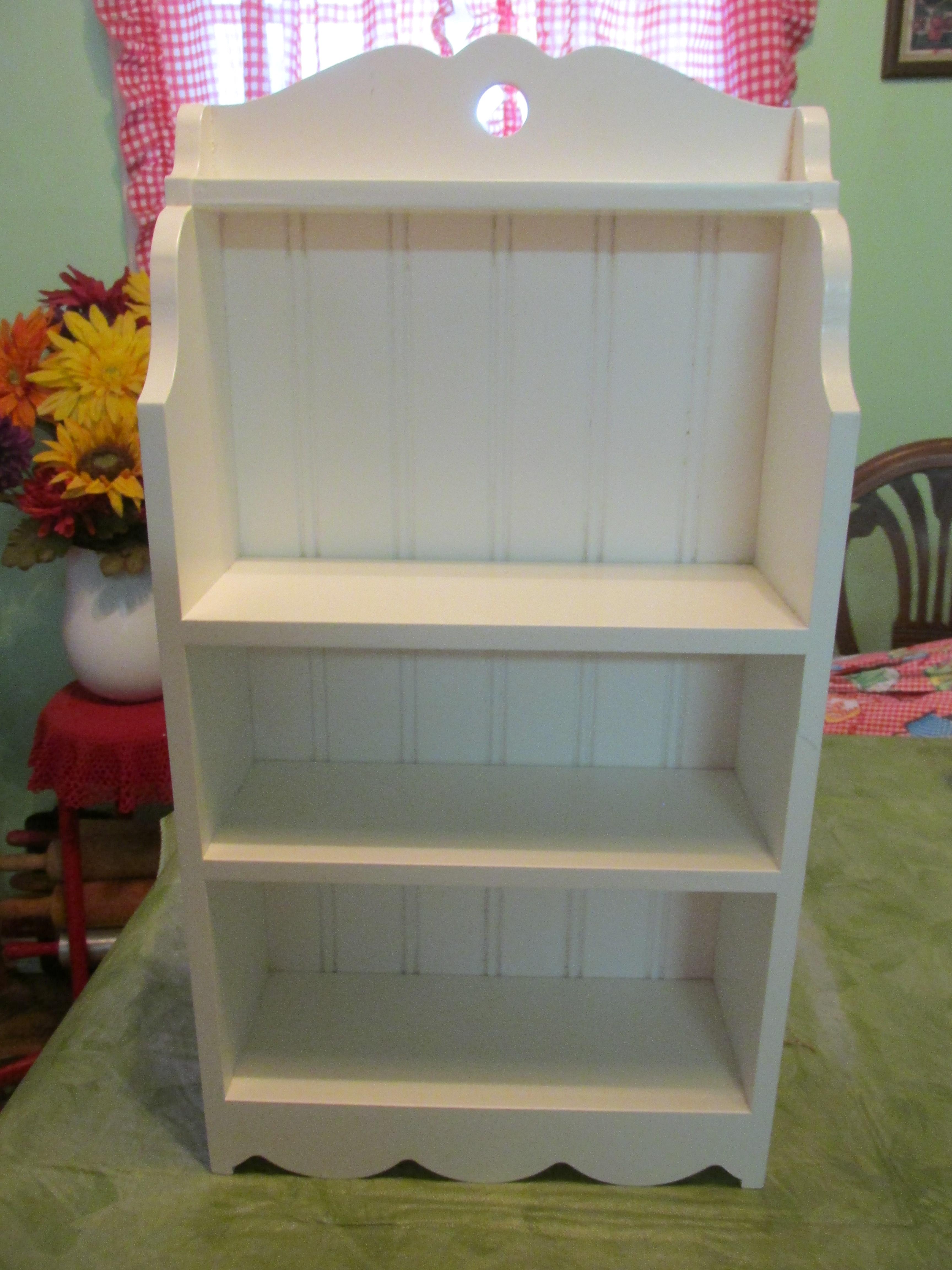 Table size shelf