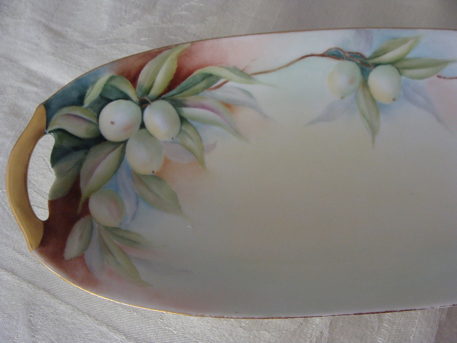 Hand Painted Limoges Dish