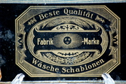 Vintage Tin Stencil Fabric Marker Set