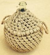Demijon Bottle in Rope Basket